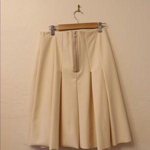 ASOS WHITE skirt pleated skirt